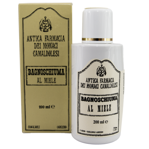Bagnoschiuma al miele 200ml - Farmacia di Camaldoli