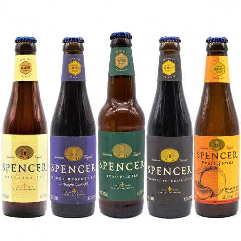 Mix birra Spencer 5 bottiglie - birra trappista - Spencer Brewery - Trappist