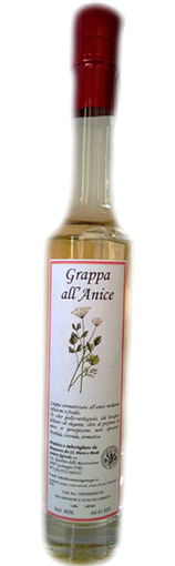 Grappa all'anice 200ml - Monastero Germagno